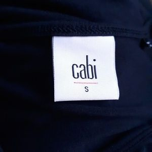 CAbi Tops - CAbi Navy Draped Top